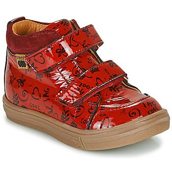 鞋子 女孩 高帮鞋 GBB DOMENA 红色