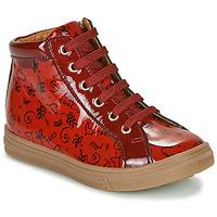 鞋子 女孩 高帮鞋 GBB PHILEMA 红色