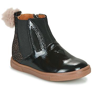 鞋子 女孩 短筒靴 GBB GEMMA 黑色