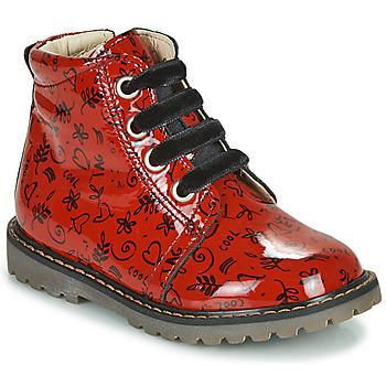 鞋子 女孩 高帮鞋 GBB NAREA 红色