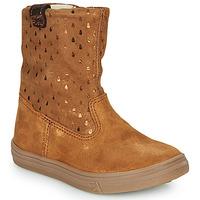 鞋子 女孩 短筒靴 GBB KINGA 棕色