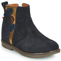 鞋子 女孩 短筒靴 GBB JEANNETTE 蓝色