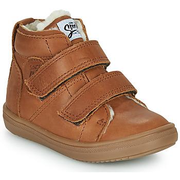 鞋子 男孩 高帮鞋 GBB DIEGGO 棕色