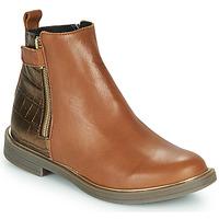 鞋子 女孩 短筒靴 GBB XIANA 棕色