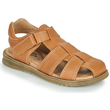 鞋子 男孩 凉鞋 Citrouille et Compagnie MELTOUNE 棕色