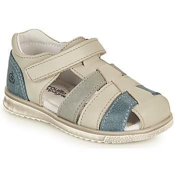 鞋子 男孩 凉鞋 Citrouille et Compagnie FRINOUI 灰色