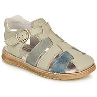 鞋子 男孩 凉鞋 Citrouille et Compagnie ZIDOU 灰色