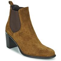 鞋子 女士 短靴 Adige FANNY V1 CHEV VEL NOIX 棕色