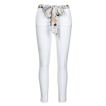 衣服 女士 多口袋裤子 Betty London OUMA 白色