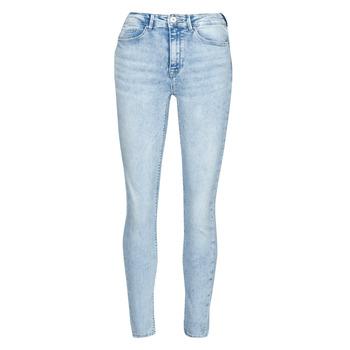 衣服 女士 紧身牛仔裤 Only ONLPAOLA 蓝色 / 米色
