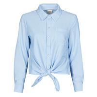 衣服 女士 衬衣/长袖衬衫 Only ONLLECEY 蓝色
