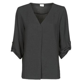 衣服 女士 女士上衣/罩衫 JDY JDYDIVYA 3/4 TOP WVN NOOS 黑色