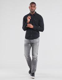 衣服 男士 直筒牛仔裤 G-Star Raw 3301 STRAIGHT 灰色
