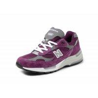 鞋子 球鞋基本款 New Balance新百伦 992 Purple Grey Purple / Grey