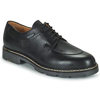 鞋子 男士 德比 & 系带短筒靴 Christian Pellet Montario 黑色