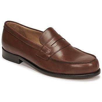 鞋子 男士 皮便鞋 Pellet Colbert 棕色