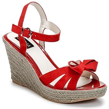鞋子 女士 凉鞋 C.Petula SUMMER 红色
