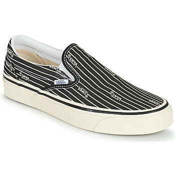 鞋子 女士 球鞋基本款 Vans 范斯 UA CLASSIC SLIP ON 9 黑色