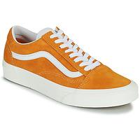 鞋子 女士 球鞋基本款 Vans 范斯 UA OLD SKOOL 橙色