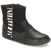 鞋子 女孩 短筒靴 Citrouille et Compagnie ELLIA 黑色