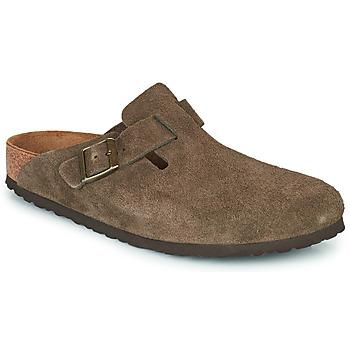 鞋子 洞洞鞋/圆头拖鞋 Birkenstock 勃肯 BOSTON 棕色