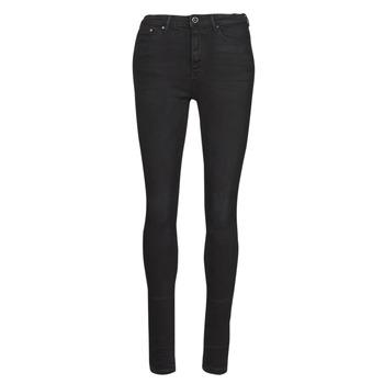 衣服 女士 紧身牛仔裤 Only ONLPAOLA 黑色