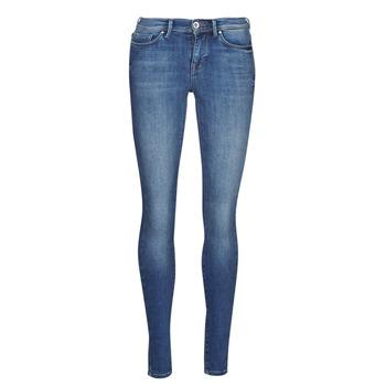 衣服 女士 紧身牛仔裤 Only ONLSHAPE 蓝色 / Edium