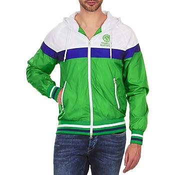 衣服 男士 夹克 Franklin & Marshall MELBOURNE 绿色 / 白色 / 蓝色