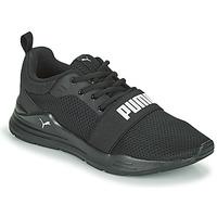 鞋子 儿童 球鞋基本款 Puma 彪马 WIRED JR 黑色