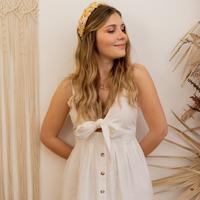 衣服 女士 长裙 Céleste CAMOMILLE 白色