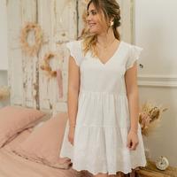衣服 女士 短裙 Céleste DAHLIA 白色