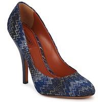 鞋子 女士 高跟鞋 Missoni VM005 蓝色