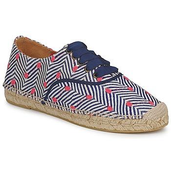 鞋子 女士 帆布便鞋 Missoni VM045 蓝色 / 玫瑰色