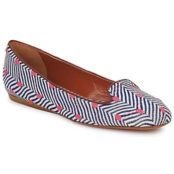 鞋子 女士 皮便鞋 Missoni VM036 藍色 / 玫瑰色