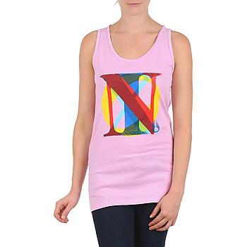 衣服 女士 无领短袖套衫/无袖T恤 Nixon PACIFIC TANK 玫瑰色 / 多彩