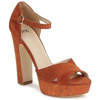 鞋子 女士 凉鞋 JFK  橙色