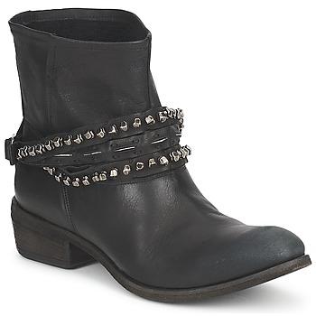 鞋子 女士 短筒靴 Strategia GRONI 黑色