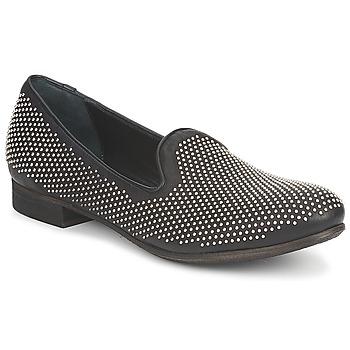 鞋子 女士 皮便鞋 Strategia CLOUPI 黑色