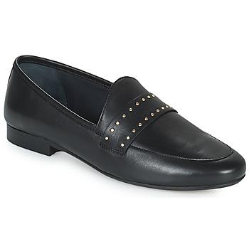 鞋子 女士 皮便鞋 JB Martin FRANCHE ROCK 黑色