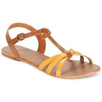 鞋子 女士 涼鞋 Betty London IXADOL 黃色 / 駝色