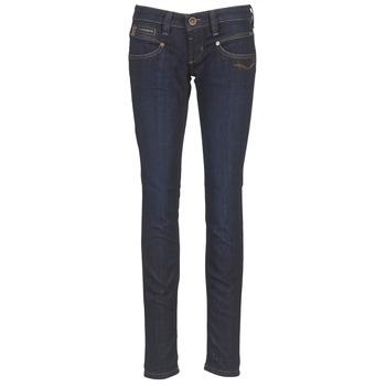 衣服 女士 緊身牛仔褲 Freeman T.Porter ALEXA SLIM SDM 藍色 / Fonce