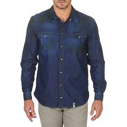 衣服 男士 长袖衬衫 Freeman T.Porter CORWEND DENIM 蓝色