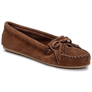 鞋子 女士 皮便鞋 Minnetonka KILTY 棕色 / Fonce