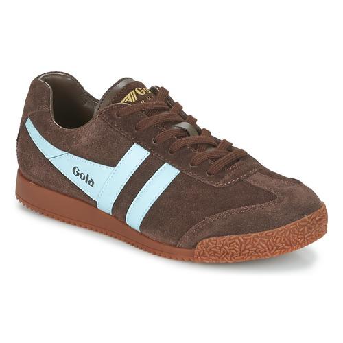鞋子 球鞋基本款 Gola HARRIER 棕色 / 蓝色