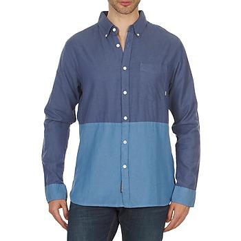 衣服 男士 长袖衬衫 Element BRENTWOOD 蓝色
