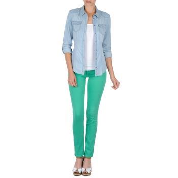 衣服 女士 多口袋裤子 Cimarron CASSIS 绿色