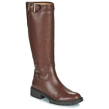 鞋子 女士 都市靴 Coach LEIGH 棕色