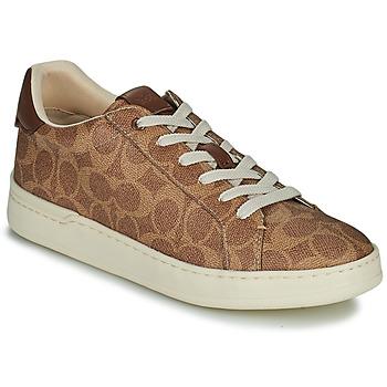 鞋子 女士 球鞋基本款 Coach LOWLINE 棕色