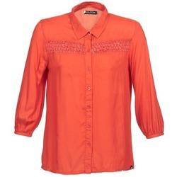 衣服 女士 长袖衬衫 Volcom KNOTTY 红色