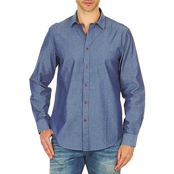 衣服 男士 长袖衬衫 Ben Sherman 宾舍曼 BEMA00490 蓝色